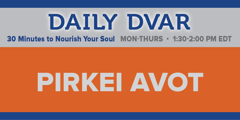 Daily Dvar: Chapter 5 - Numbers, Names and Needs - Featuring Rabbi Avi Heller