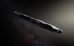Oumuamua Photo: ESO/M. Kornmesser
