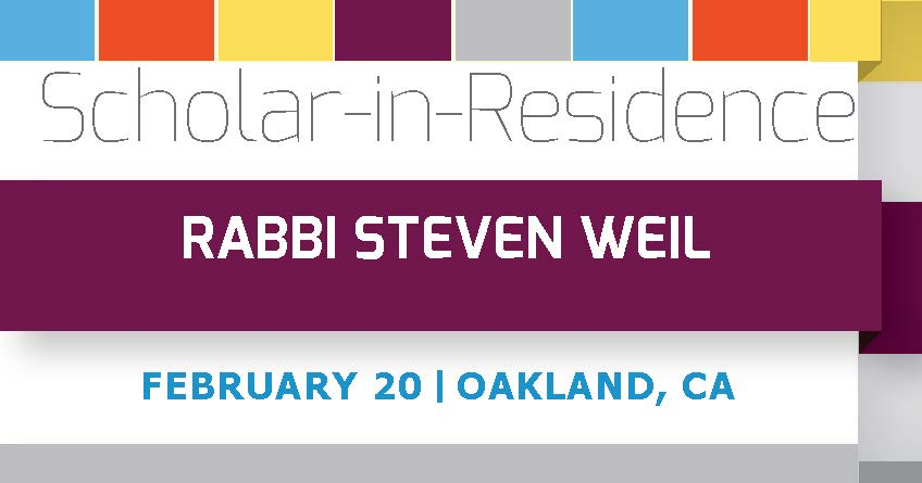 Scholar in Residence with Rabbi Steven Weil