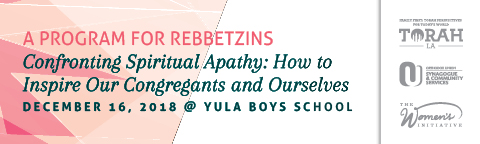 West Coast Rebbetzins Conference