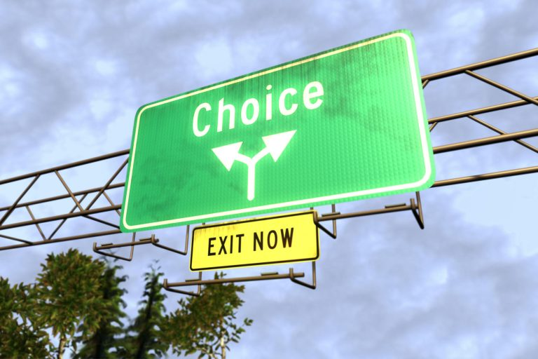 Choices Sign