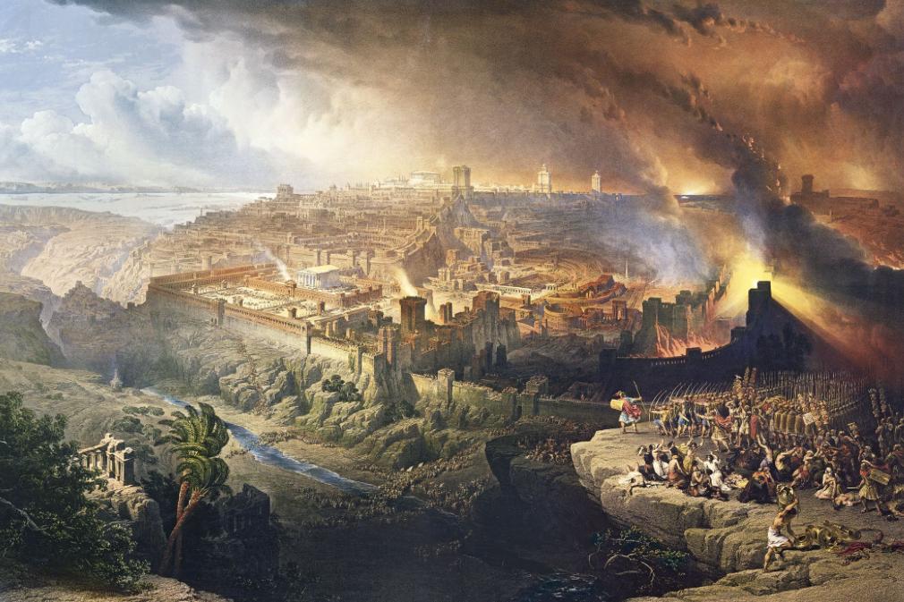 HISTOIRE ABRÉGÉE DE L'ÉGLISE - PAR M. LHOMOND – France - année 1818 (avec images et cartes) Churban-3-e1470583236900