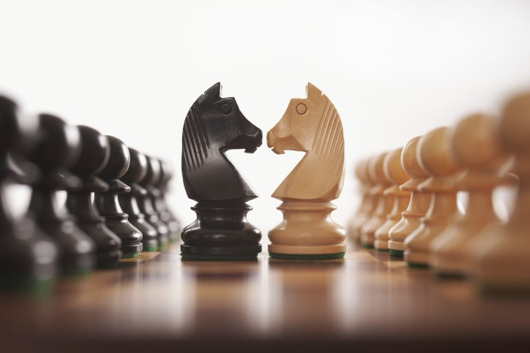 Enemy chess pieces