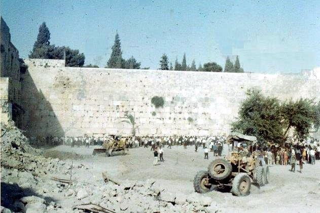 Kotel in 1967