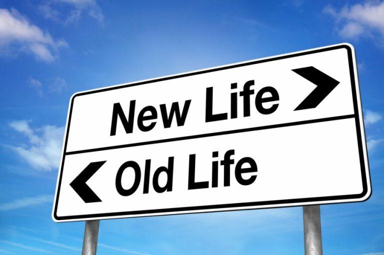 Life Change Sign
