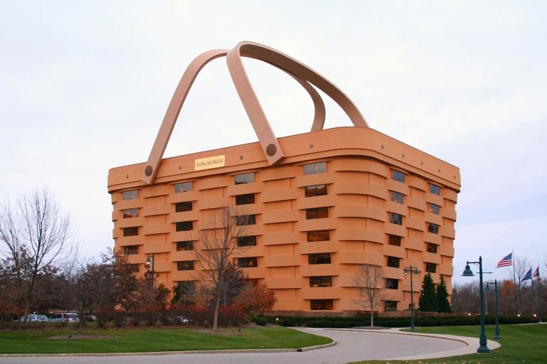 Longaberger Picnic Basket HQ