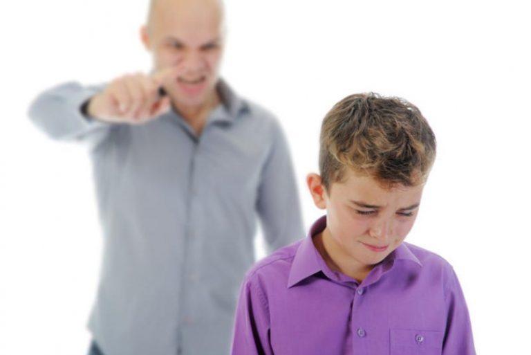 Parent Yelling At Child