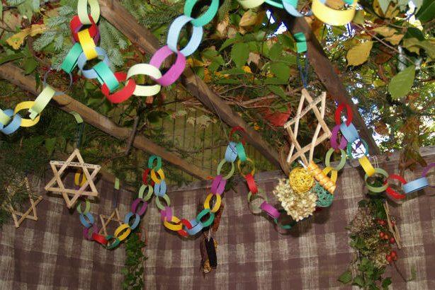 "Decorations of the Sukkah (""Noy Sukkah"") - Jewish Holidays"