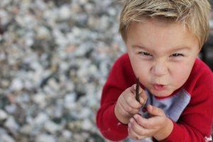 Mischievous Child