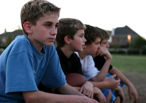 Four Boys in a Row