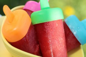 Homemade popsicle