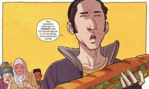 Naftali from Ms. Marvel #25