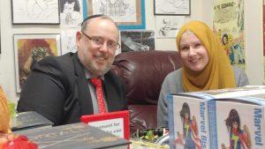 Rabbi Jack Abramowitz with G. Willow Wilson