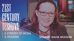 Shabbat Shuva Weekend with Sivan Rahav Meir - September 15-16, 2018