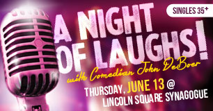 A Night of Laughs with John DeBoer