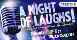 A Night of Laughs with Joel Chasnoff & Eli Lebowicz
