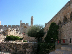 Migdal David in the Old City