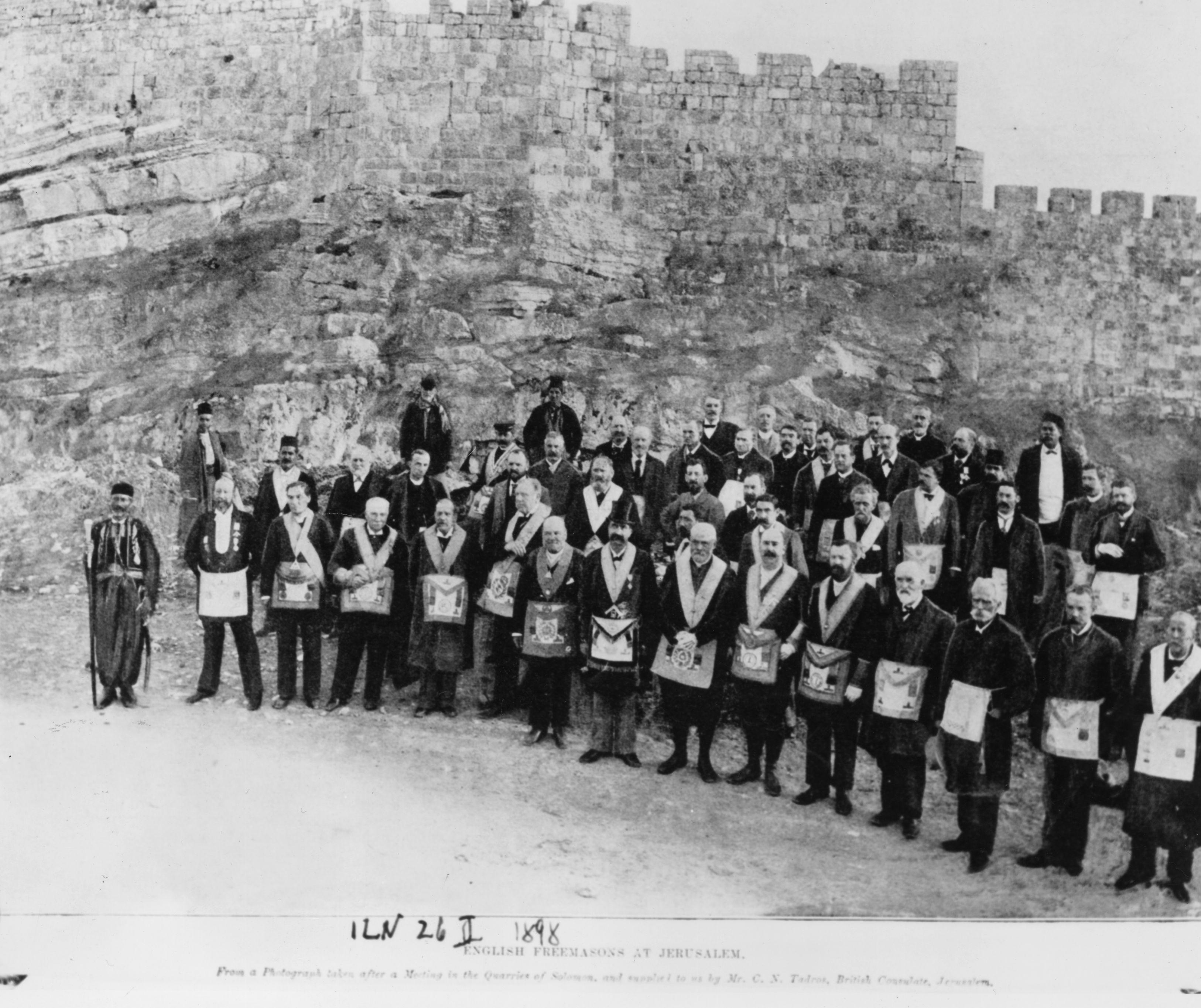Finding Freemasons in Jerusalem   Everyday Jewish Living