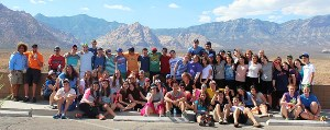 YBY Bus #2 at Red Rock Canyon in Nevada.