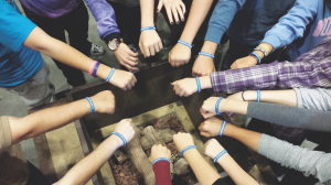 A group of Las Vegas NCSYers met immediately following the news of Orly's accident to send cards of comfort and to raise money for her medical expenses. The teens made bracelets that read #nothingcanstopyou and #orlyinspires. Months later, NCSYers are still wearing their bracelets with pride.