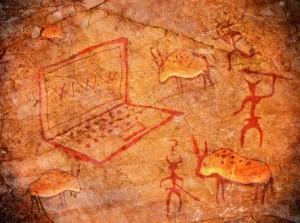 Caveman cave computer